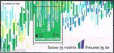 Finland Suomi 1992 blok 9 75 jaar onafhankelijkheid Postfris MNH