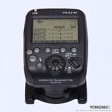 New YONGNUO 2.4G Wirless Speedlite Transmitter YN-E3-RT for Canon 600EX-RT