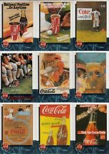 COCA-COLA SPRINT PHONE CARDS/CELS PREMIER 1995 BASE CARD SET OF 50 CELS AV