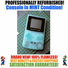*NEW GLASS SCREEN* Nintendo Game Boy Color GBC Glow in the Dark System MINT NEW