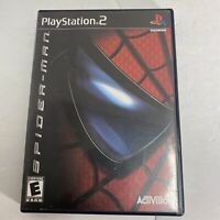 Spider-Man: The Movie (Sony PlayStation 2, 2002) Complete CIB Video Game