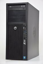 HP Z220 Workstation Torre Pc Quad Core Xeon e3-1225 8gb DDR3 2tb HDD Wi-Fi USB 3