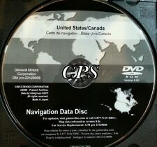 2007 to 2011 Chevrolet Avalanche / Tahoe / Hybrid Navigation DVD Map 8.0c Update