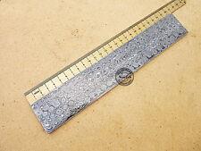 "12"" Smith Damascus Steel Rain Drop Blank Billet/Bar for Knife Making (SM-076)"