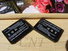 2pcs Battery for Creative Vado HD DIVI CAM 428 CAM428 NP-60 Lumicron LDC-860R