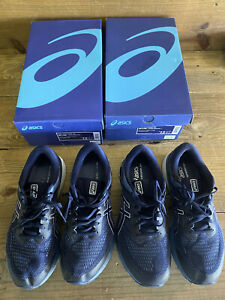 (2) Pair Asics Gel Kayano 26 12 EEEE Extra Wide Excellent Condition Box Included
