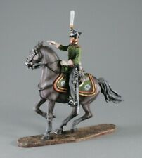 Painted Tin Toy Soldier Army Artillery Officer #2 54mm 1/32