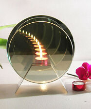 Infinity Circular Mirror Illusion Candle
