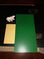 LEGO WHITE POLAR BEAR MINIFIGURE MARTIC ANIMAL FIGURE GENUINE PLUS BOARDS/MATS!