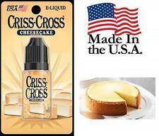 Cheesecake Criss Cross Vape Vapor USA 10ML Bottle (24 HIGH) - $4.99