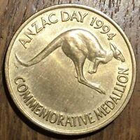 JETON TOKEN ANZAC DAY AUSTRALIA 1994 MEDAILLION (513) KOALA KANGOUROU