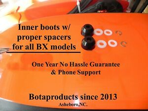 *Kubota BX & GR Poly Inner Tie Rod Boots Upgrade (all BX models) 1 Yr Warranty