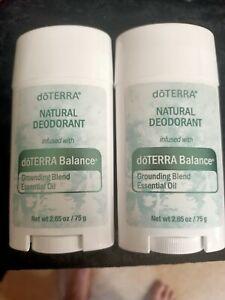 doTERRA BALANCE Natural Deodorant x 2 NEW