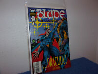 VINTAGE (NEW) MARVEL BLADE, THE VAMPIRE HUNTER vs DRACULA .#2 .1994..  #381