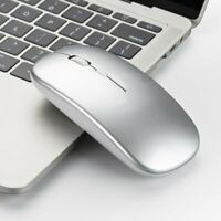 Ergonomic 2.4GHz Wireless Mouse Optical Mice Rechargeable For PC Laptop OS Win10