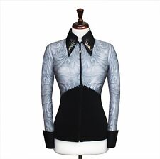SMALL  Showmanship Pleasure Horsemanship Show Jacket Shirt Rodeo Queen Rail Top
