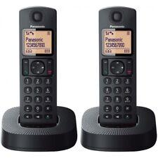 Panasonic Tgc312 Digital Cordless Phone Nuisance Call Blocker 2 Headsets - Black