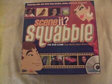 Scene It Squabble DVD Game 2005.With Copy of the Rules