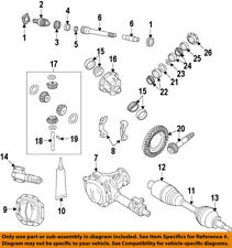 CHRYSLER OEM Rear Axle-Differential Pumpkin Cover Gasket 5010884AD