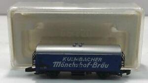 Marklin 8603 Z Scale Kulmbacher Monchshof-Brau Beer Car EX/Box