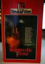 VHS - DEVONSVILLE TERROR di Ulli Lommel [LINEAFILM]