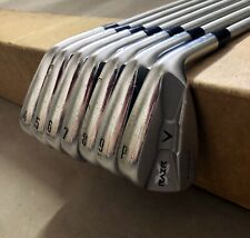 Callaway RAZR X Muscle Back Irons 4-PW C-Taper 120g Stiff Flex Steel Golf Set
