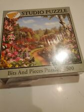 """Bits & Pieces 500 Piece Puzzle """"Butterfly Garden""""  NEW"""
