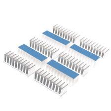 10pcs 10*35*10mm Aluminum Cooler Heatsink Radiator With Blue Thermal PRI