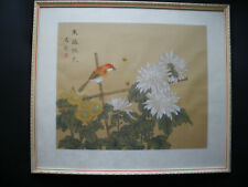 Pintura china de seda
