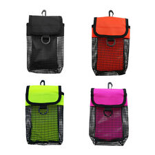4-Pack Mesh Gear Bag Pouch for Scuba Diving Reel & SMB Safety Marker Buoy