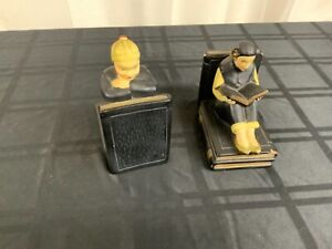 Ceramic Asian themed bookends (MM1771)