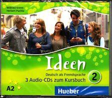 HUEBER Ideen Audio-CD's (3) zum Kursbuch @Brand NEW, sealed@ A2