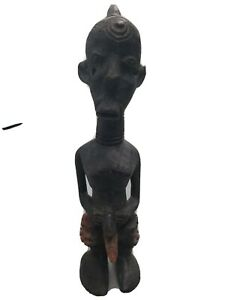 Congo Male Nude Unusual wood carving !!