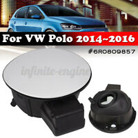 1Pcs Fuel Filler Lid Door Cap Cover Flap For VW For Polo 2014-2016 6R0809857