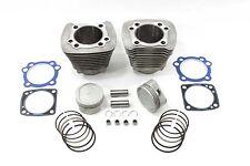 883cc To 1200cc Cilindro y Piston Kit de Conversión Plata