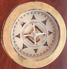 Vintage John E Hand & Sons Co Nautical Brass Compass No Box