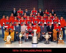 1974 PHILADELPHIA FLYERS 8X10 PHOTO HOCKEY NHL PICTURE TEAM