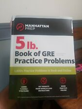 5 Lb. Book of GRE Practice Problems by Manhattan Prep 3rd Edition