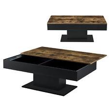 B-WARE Couchtisch Tisch Beistelltisch Wohnzimmertisch Sofatisch Staufach Holz