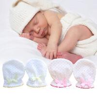 Breathable Mesh Newborn Baby Anti Scratch Mittens Gloves Boys Girls Handguard