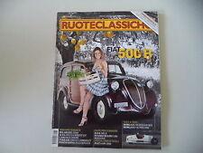 RUOTECLASSICHE 2/2012 ALFA GIULIA SPINT GT/FIAT 500 B/MG PA/STANGUELLINI 1100