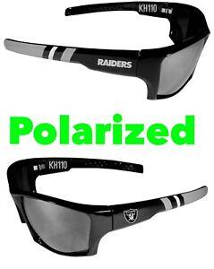 Las Vegas Raiders NFL Polarized Wrap Sunglasses 100% UVA / UVB Protraction