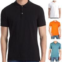 Polo Uomo Maniche Corte Calvin Klein Logo Su Fronte CK Short Sleeves