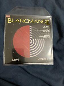 Blancmange - Semi Detached CD Promo / Cherry Red