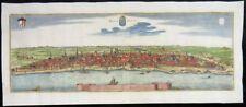 BORDEAUX FRANKREICH GROßE KUPFERSTICH PANORAMA ANSICHT MATTHÄUS MERIAN 1650