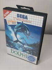 Sega Master System Ecco The Dolphin ohne Anleitung