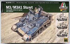 Italeri 15761 m3/M3a1 Stuart 1/56 Kit modello (w15761) NUOVO INSCATOLATO