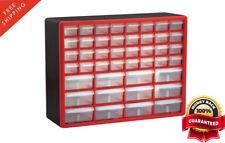 44-Drawers Storage Cabinet Plastic Unit Bin Small Parts Hardware Craft Organizer