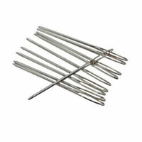 5pcs Large Eye Blunt Needles Wool Thick Hand Knitter for Yarn Sewing Darning