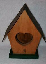 Home Interiors Vintage Wood Metal Birdhouse